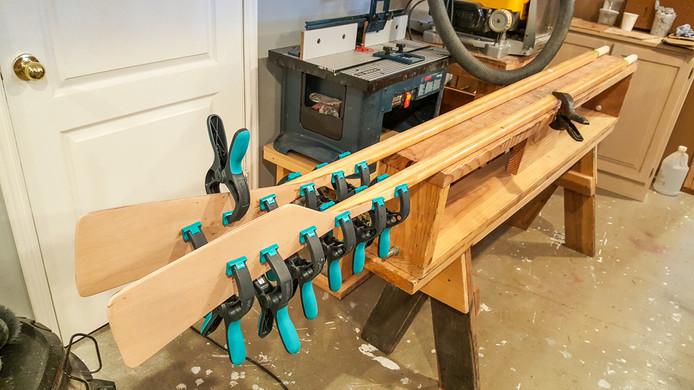 052 - Glueing Oar Blades onto Shafts.jpg