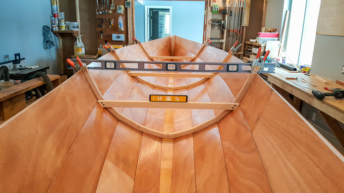 043 - Dry fitting frames and seat suppor