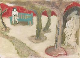 Mylo Ann Farley Virginia Woolf's garden.