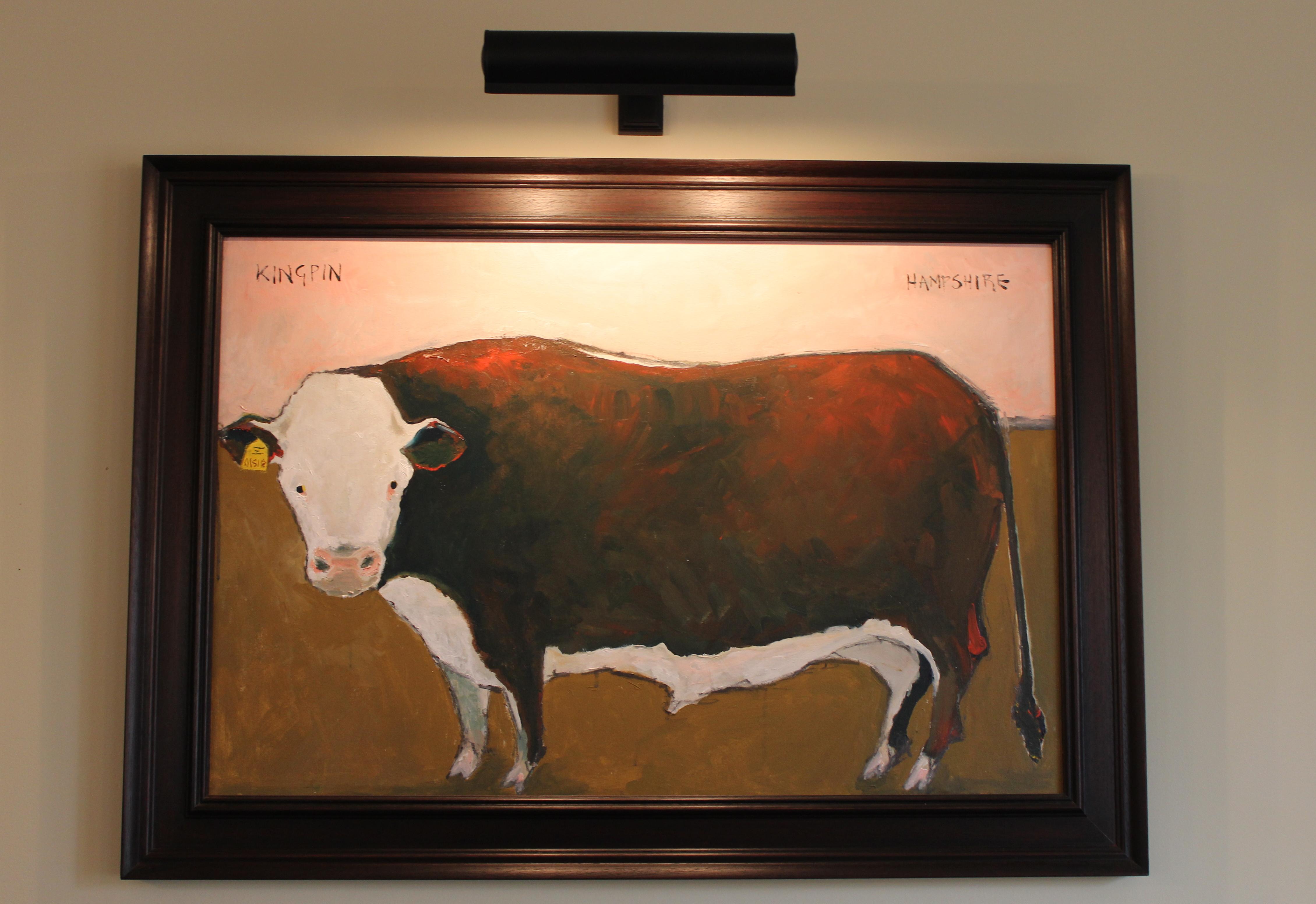 Oil On Canvas, Lizbeth Holsten