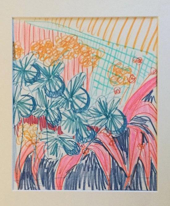 Catherine Cazalet, Tropical Garden