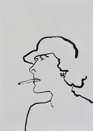 Sophie Bartlett, Smoking Lady
