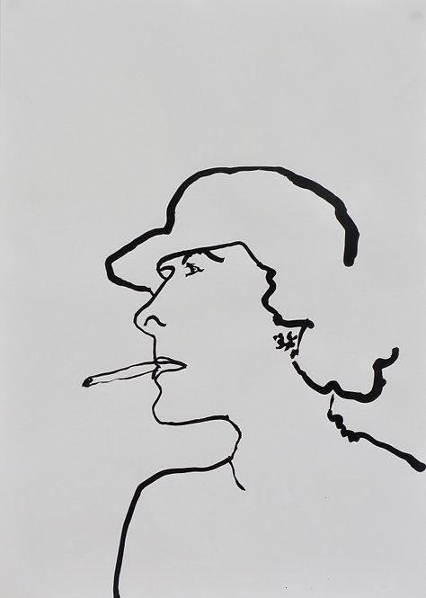 Sophie Bartlett, Smoking Lady