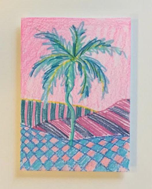 Catherine Cazalet, Pink Palm