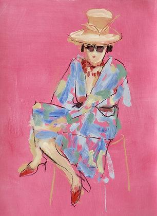 Sophie Bartlett, Coloured Kimono