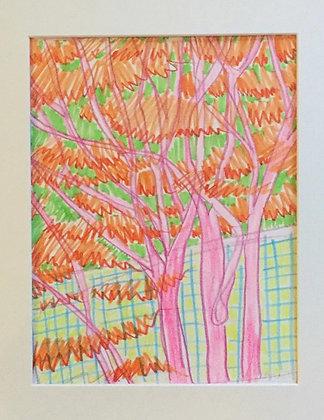 Catherine Cazalet, Tangerine Trees