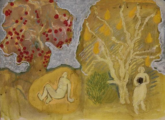 Ann Farley,  Pear Tree, Apple Tree