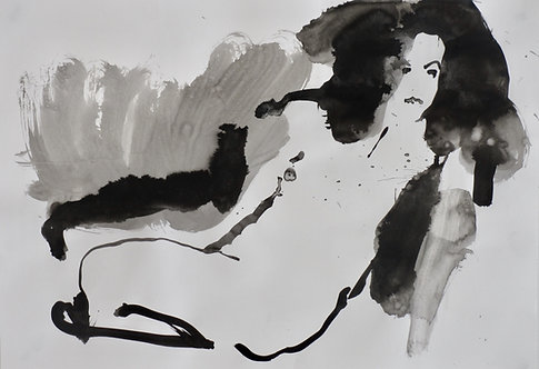 Sophie Bartlett, Black and White Nude