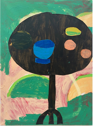 Rosa Roberts, Objects on a black table