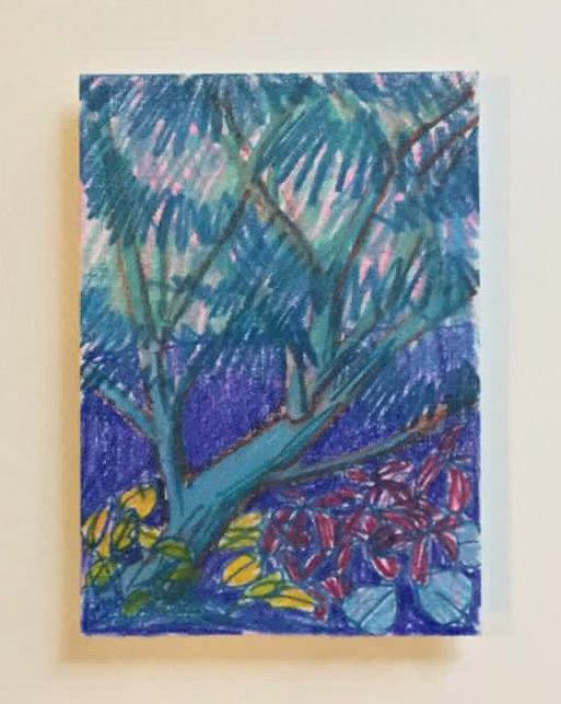 Catherine Cazalet, Blue Garden