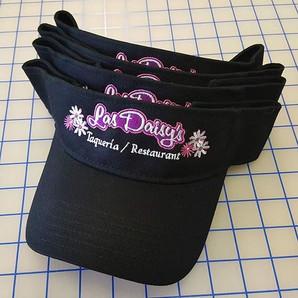 Restaurant embroidery visors #riksshop #