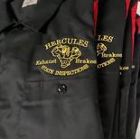 #customembroidery #hercules #workshirt.j