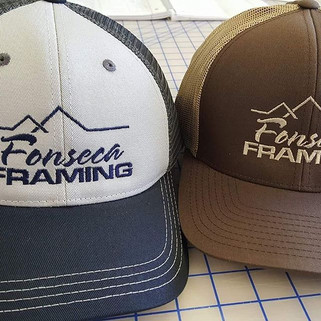 Fonseca Embroidery Caps. #customembroide