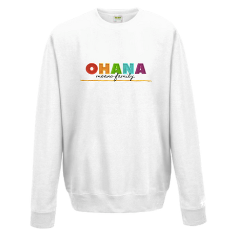 PRE-ORDER ADULT OHANA Embroidered Sweatshirt
