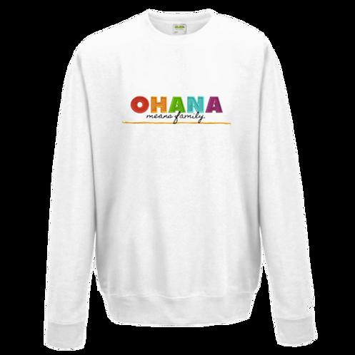 PRE-ORDER ADULT OHANA Embroidered Sweatshirt