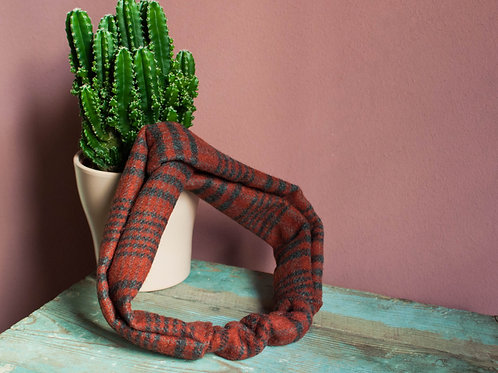 Fascia in lana e cashmere