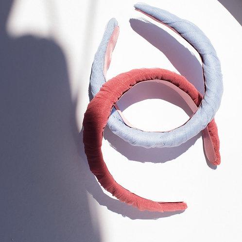 Cerchietto drappeggio in tulle