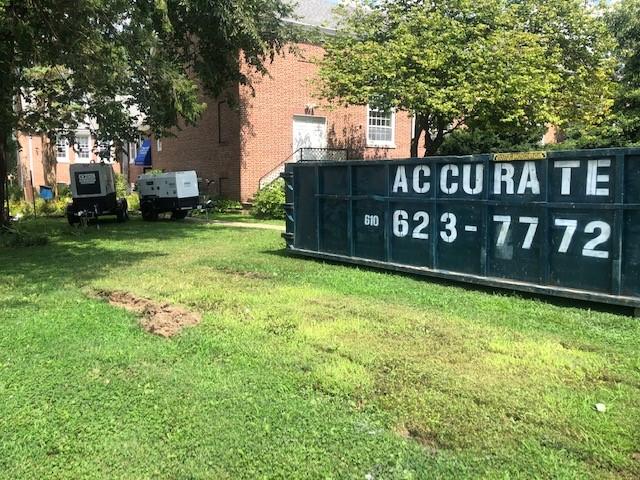Generators & Dumpster