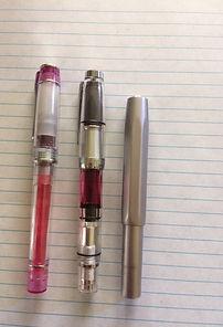 Kaweco, Pilot, & TWSBI fountain pens