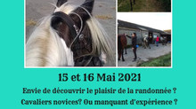 STAGE INITIATION RANDONNEE 15-16 MAI 2021
