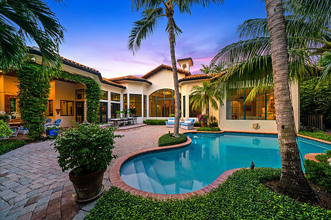 Twilight photography west palm beach real estate