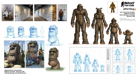 Bigfoot Family Character Designs (and More)