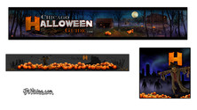 Digital Paintings for Chicago Halloween Guide Site