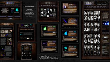 Hiptrix Website and Brand Identity