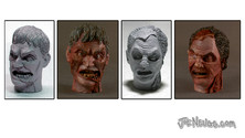 1:6 Scale Zombie Heads