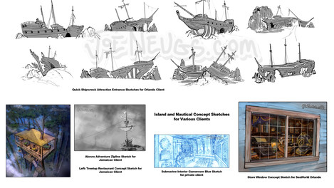 Concept Sketch Examples