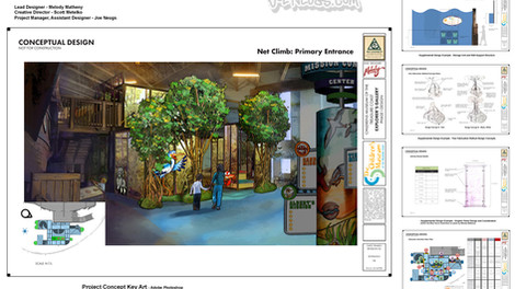 Children's Museum Attraction Design Work
