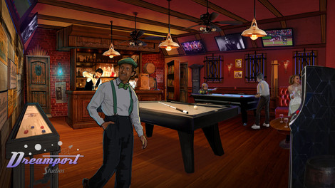 Speakeasy Game Room Concept