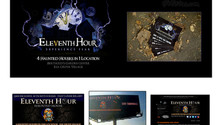 Eleventh Hour Haunted Houses Branding