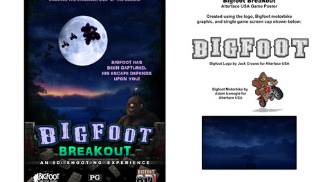 Bigfoot Breakout Poster