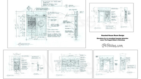 Haunt Room Design Elevations