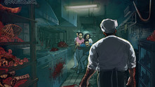 Haunted House - Slaughter Kitchen