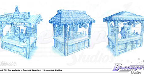 Themed Tiki Bars