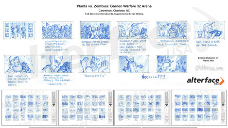 Plants vs. Zombies: Garden Warfare 3Z Arena - Storyboards