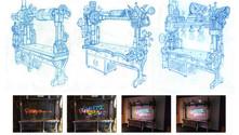 Steampunk-Style Interactive Grafitti Unit
