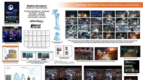 Bigfoot Breakout - Interactive Theater Attraction