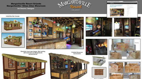 Margaritaville Showroom Environment