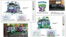 Plants vs Zombies: 3Z Arena - Queue Tailgate Designs