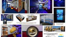 Arctic Voyage Bunk Room