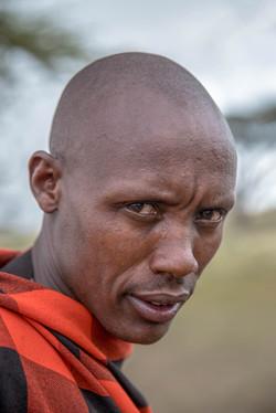 Der ernste Massai