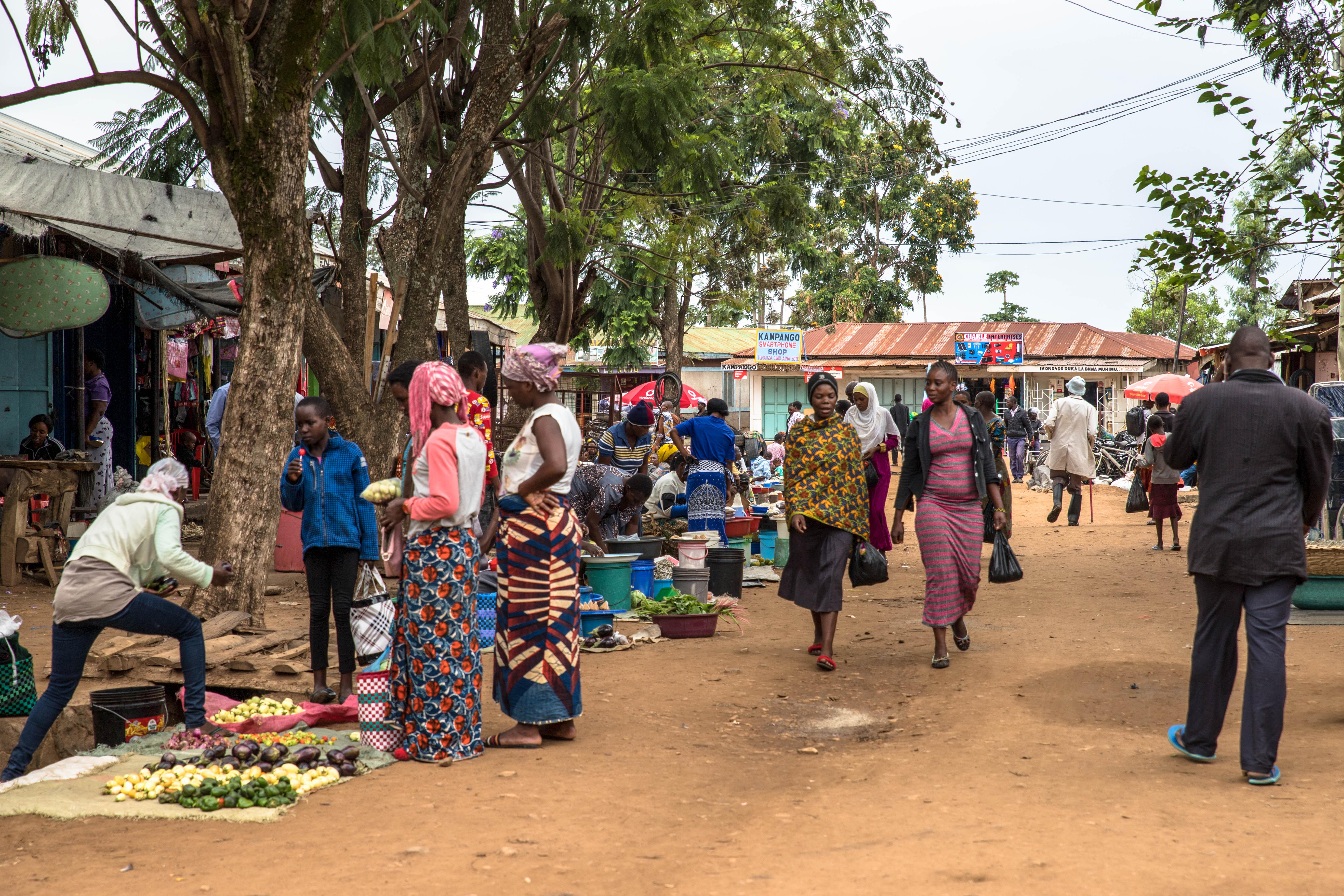Markt in Mugumu