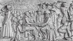Marmorfries im Voortrekkerdenkmal