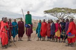 Tanz der Massai