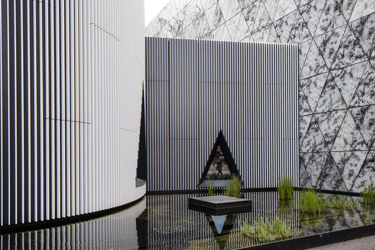 Moderne Architektur in Belval