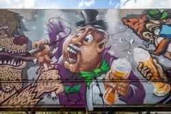 Graffiti auf Bayerisch