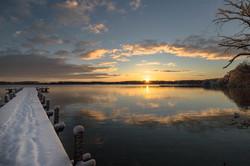 Sonnenaufgang am Wörthsee